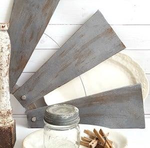 DIY Farmhouse Style Salvaged Windmill Decor