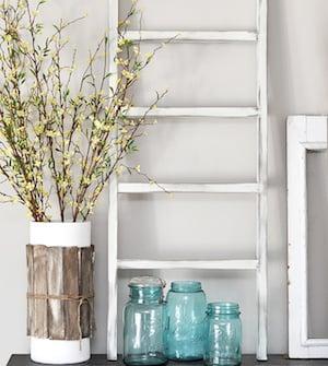 DIY Mini Wooden Ladder