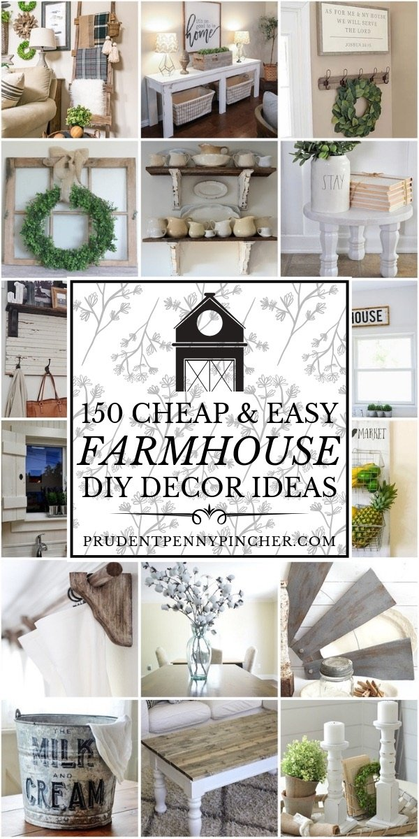 decor and design savvy decor and design ideas under 50 diy ideas for your home 150 Cheap and Easy DIY Farmhouse Decor Ideas
