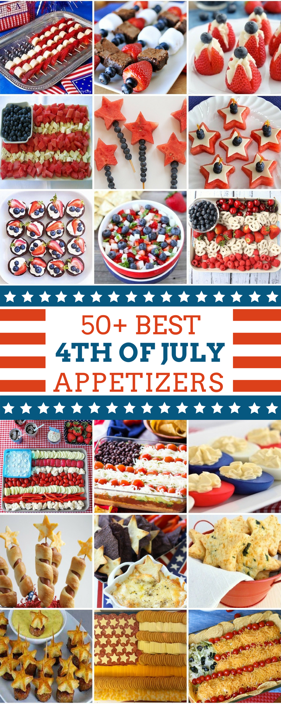 50 best 4th of july appetizers prudent penny pincher for 4th of july appetizers and desserts