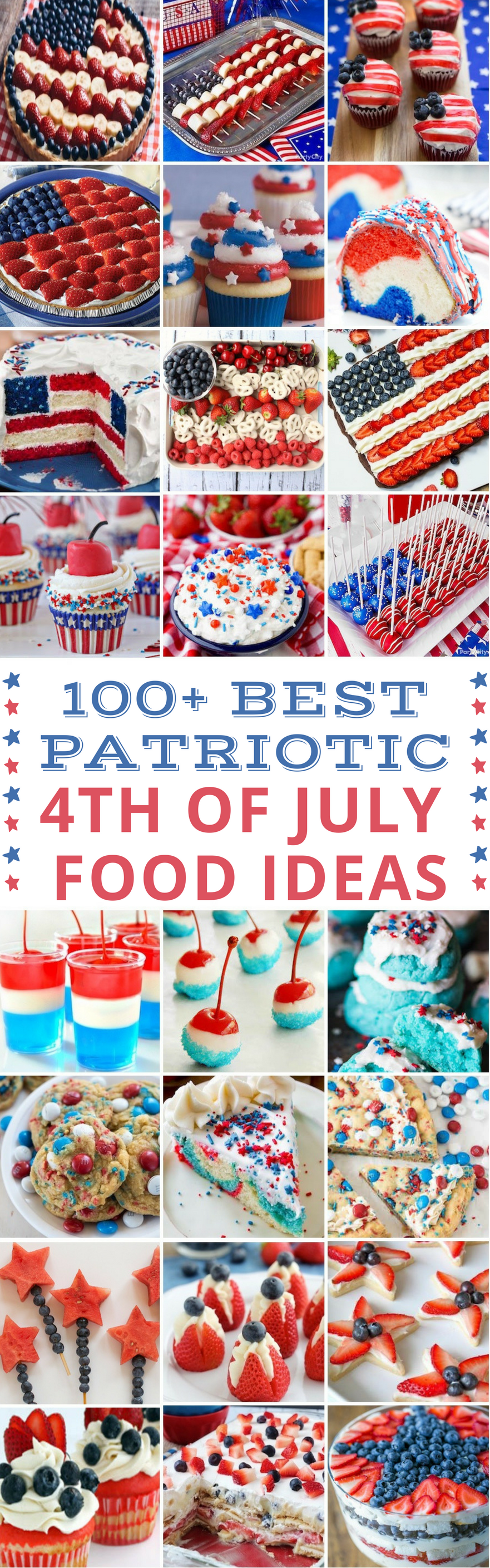 100 best patriotic 4th of july food ideas prudent penny for July 4th food ideas