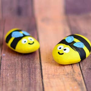 Painted Bee Rocks