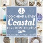 100 Cheap and Easy DIY Coastal Decorating Ideas