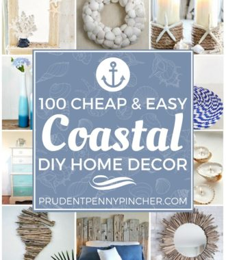 100 Cheap and Easy DIY Coastal Decorating Ideas