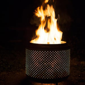 Upcycled metal Fire pit