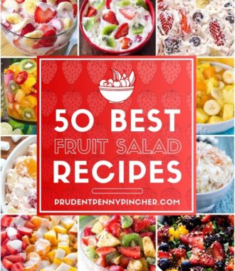 50 Best Fruit Salad Recipes Collage