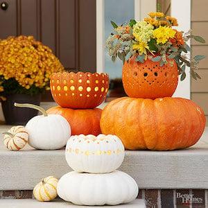 Pumpkin Bowls DIY
