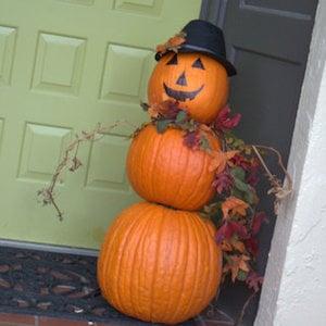 pumpkin man for porch