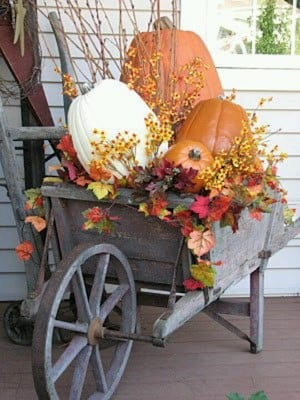 Fall Harvest Wheelbarrow Great Project If You Hen To Already Have A