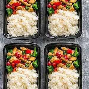Cashew Chicken Meal Prep recipe