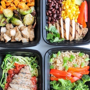 Chicken Meal Prep lunch ideas