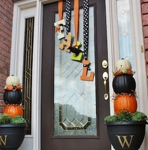 Fall Letters for Front door