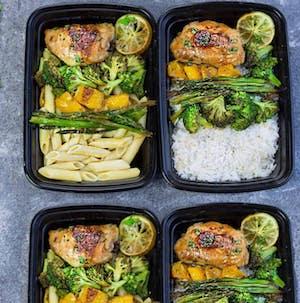Honey Lime Chicken meal prep dinner ideas