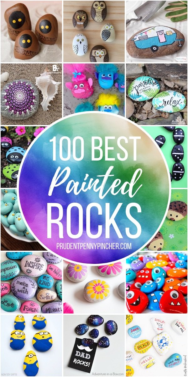 100 Best Painted Rocks Prudent Penny Pincher