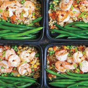 Shrimp Fried Rice Meal Prep