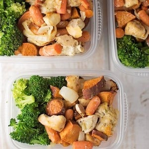 Easy and Healthy Chicken Sweet Potato Bake