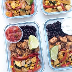 Tex-Mex Chicken Meal Prep Bowls