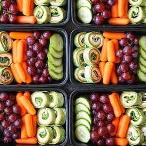 Turkey Spinach Pinwheels Meal Prep idea