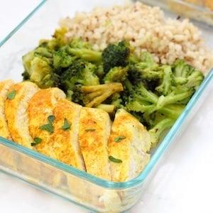 Anti-Inflammatory Turmeric Healthy Chicken Bowls