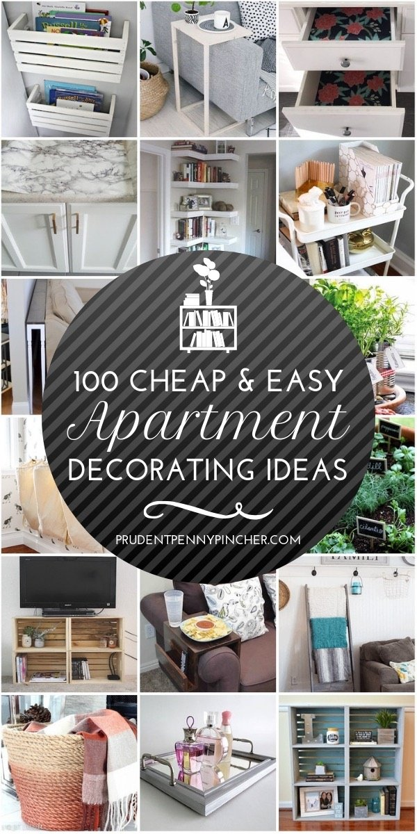 100 And Easy Diy Apartment Decorating Ideas