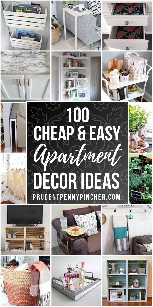 100 Cheap and Easy Apartment Decorating Ideas