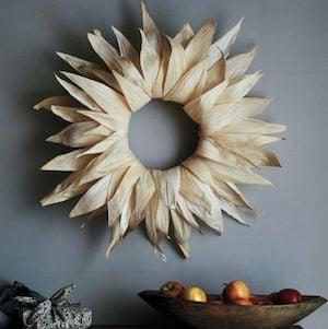 Corn-Husk Wreath