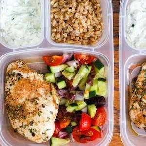 Greek Chicken Healthy Meal Prep Recipe