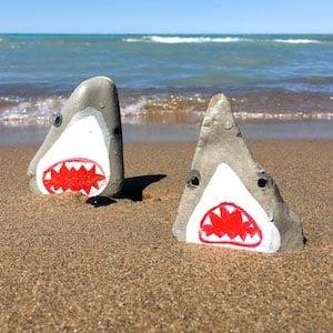 Painted Shark Rocks