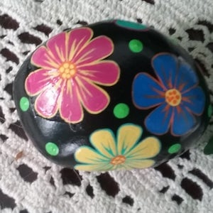 Colorful Flower Rock