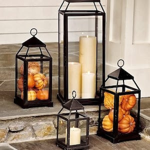 Candle and Pumpkin Lanterns