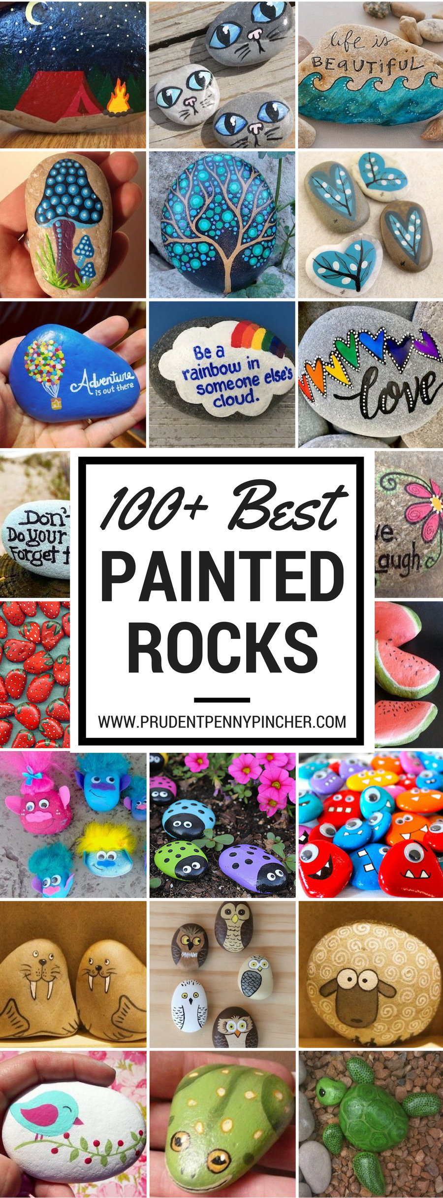 Best Way To Paint Names On Rocks