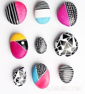 Geometric Shape Rocks