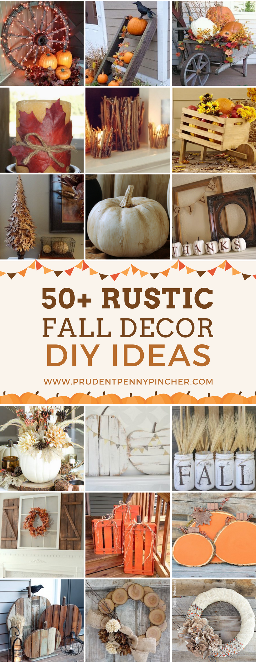 50 rustic fall decor ideas prudent penny pincher for Northwoods decor