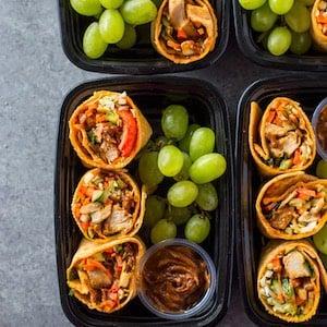 Thai Chicken Wrap Bistro Lunch Boxes