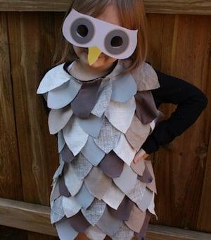Kids' Owl Costume