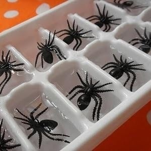 Spider Ice Cubes for halloween party