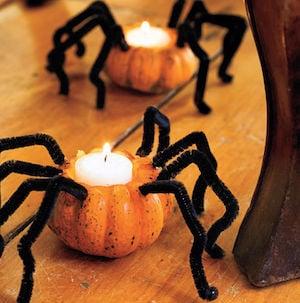 Spider Pumpkins