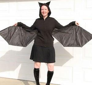 Bat Costume diy halloween costume
