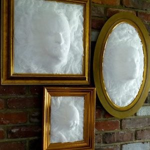 Ghost Face Picture Frame