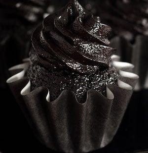 Blackout Chocolate Cupcakes
