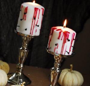Small Pillar Candles Dollar Tree Carpet Tacks Red Taper Candle