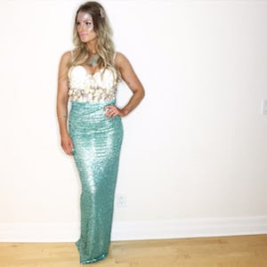 DIY Mermaid Costumefor women