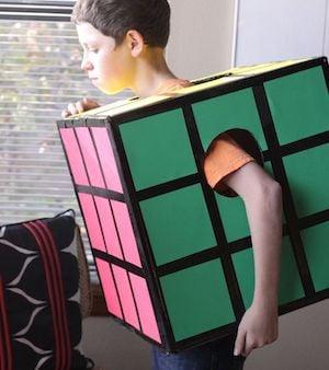 Rubik's Cube costume for kids