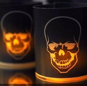 Pottery Barn Halloween Votives