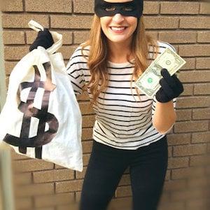 Bank Robberdiy halloween costume