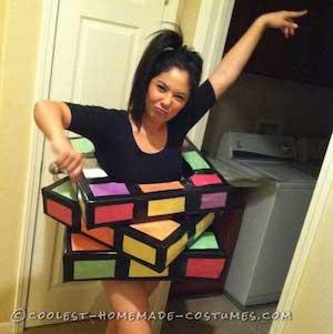 Rubik Cube costume