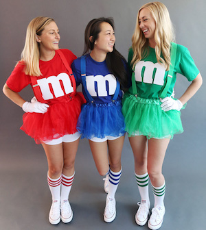 M&M best friends teen halloween Costume