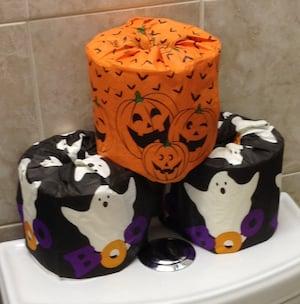Halloween Toilet Paper Covers