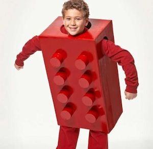 Lego diy halloween Costume