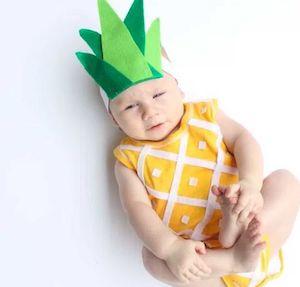 Handmade Pineapple Baby Costume